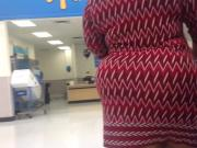 Big & Wide BBW MILF Ass Checkout Line