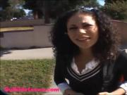 icecream truck teen schoolgirl puffy black hair.mp4