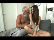 Old man Worship Miss Lee Young pretty brown girl