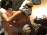 Star Wars costume funny couple