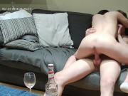 Nyusha and Ronnie sex in livingroom apr