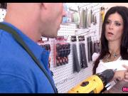 MILF gets Dick at the hardware store