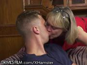 Hot Southern Grandma gets her Young Cock!