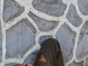 Morador de rua flagrado na bronha