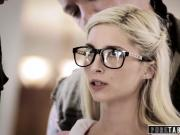 PURE TABOO Nerdy PIPER PERRI Loses Virginity in GANGBANG