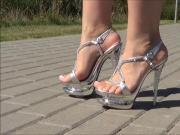 Double Platform High Heels
