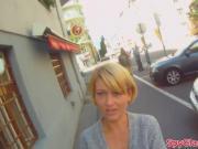 Pickedup babe banged on spycam