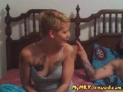 My MILF Exposed tattooed wife riding cock