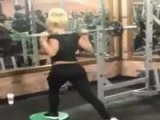 Liv Morgan trains her ass