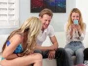 Horny relatives sharing and caring