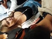 Pretty college girl tits