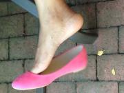 Guyanese woman flats dangle