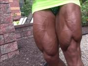 Maria Segura - Big Calves & Quads