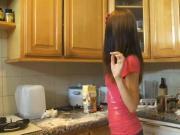 18y Teen Making A Cake