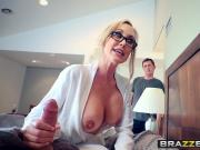 Brazzers - Mommy Got Boobs - Hands-On Learning scene starri