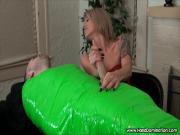 sadistic blonde cock torture