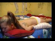 pillow humping orgasm