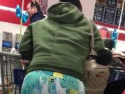Bubble Ass In Leggings