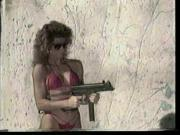 Girls Shooting Machineguns 1
