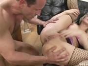 Blonde With Glasses Anal Rider