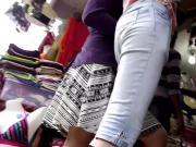 Indian girl upskirt