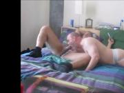 Str8 Blatino Coach Works My Holes. OralistDan Video 217.