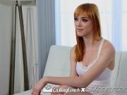 CastingCouch X Anny Aurora first fuck with casting agent