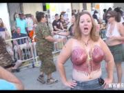 Fantasy Fest Street Flashing Sluts