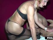 Anal Crossdresser Sex! Awesome orgy!