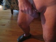 Oiled up and squirting