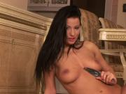 Stunning Tera Bond loves teasing moist clit