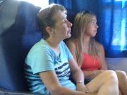 exhibtionism in treno - esibizionismo in treno