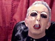 Faggot Smokes For Master