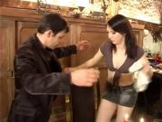 French Waitress 'Mistake...F70