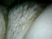 more of my gf's hairy bush under the sheets.