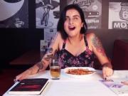 Multiple orgasms masturbation public disgrace - hidden dildo