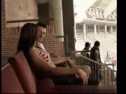 Public sex at a football stadium