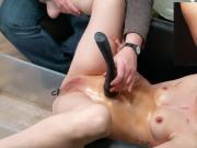 Charile Love's second enema in the chair