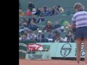 Chris Evert vs Manuela Maleeva 1984 upskirt