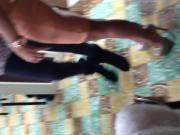 Slutty girl On high heels