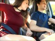 Car blowjob cim