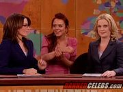 Lindsay Lohan Exposing Her Cleavage