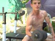 Outdoor Workout - Flexing