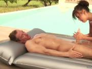 Nuru Massage Makes Him Happy