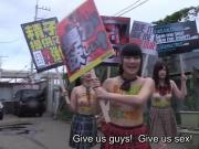 Schoolgirls take charge in the future of Japan Subtitles