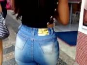 Belo rabo de jeans