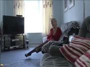 Classy older granny