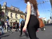 LATINA BIG BOUNCY TITS PHAT ASS IN LEGGINGS