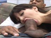 Busty MILF loves her first big black cock fucking