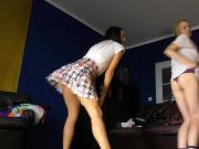 Crazy Karaoke Party with See Through Yoga Pants, Leggings